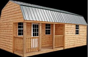Better Built  Cabin Storage Shed