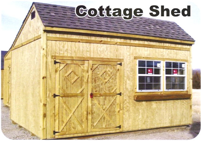 Better Built Portable Cottage Shed Storage Building