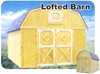 Better Built  Lofted Barn Storage Building