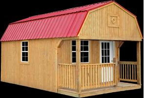 Better Built  Lofted Porch  Shed