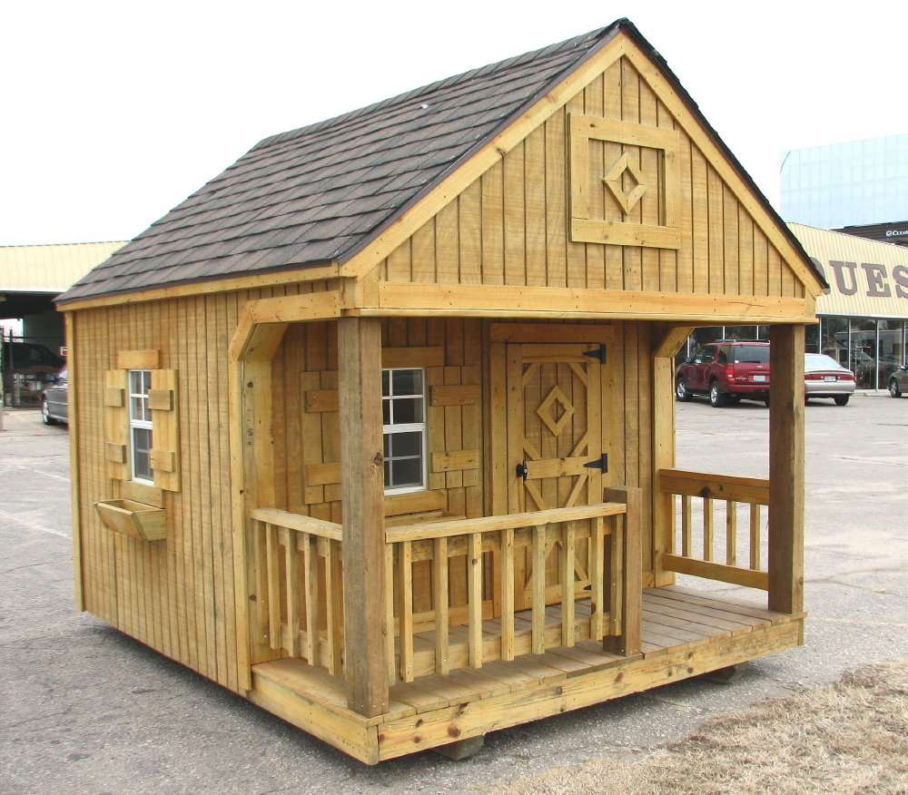 Portable Playhouse by Better Built Storage Buildings ...