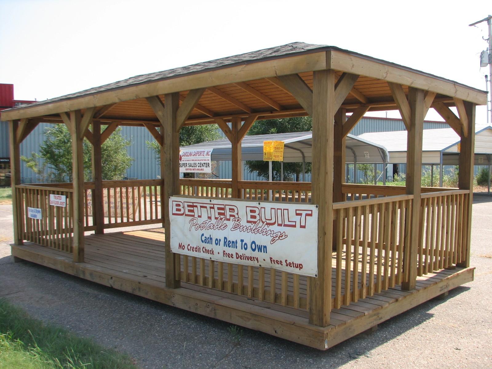 Tea House By Better Built Portable Storage Buildings
